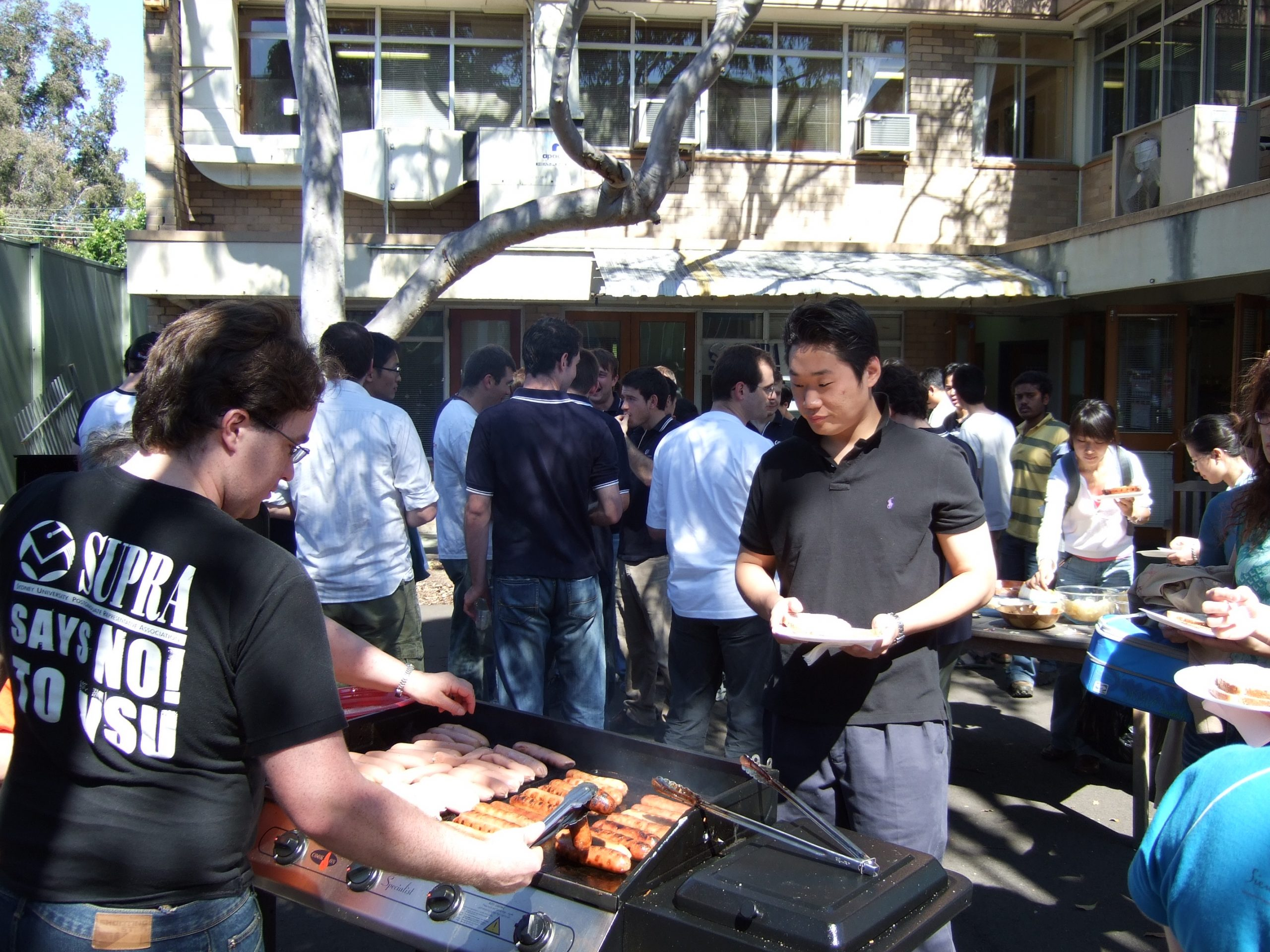 2006 SUPRA BBQ say no to VSU tshirt